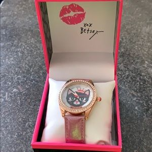 ❤️ Betsey Johnson ❤️ Wrist Watch
